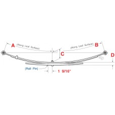14-16 1500 2WD and 4WD Leaf Spring